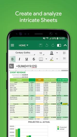 OfficeSuite Pro + PDF 10.17.27925 Screen 1