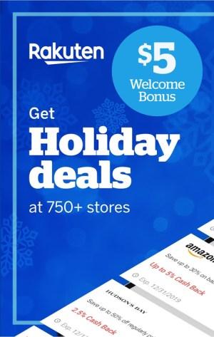 Rakuten.ca Ebates - Cash Back Shopping & Coupons 7.1.2 Screen 1