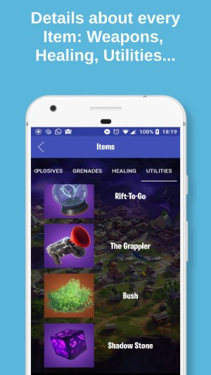 Android Fortbuddy - Companion for Fortnite Screen 1