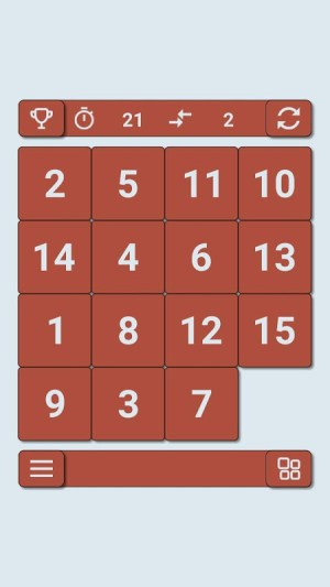 15 puzzle 2.1 Screen 15