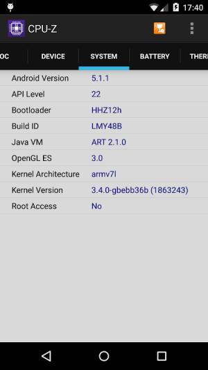 CPU-Z 1.33 Screen 2