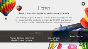 Android GALAXY Tab S Expérience Screen 1