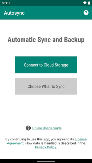 Autosync - Universal cloud sync and backup 0.9.29-beta Screen 4