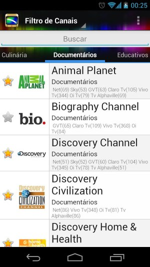 Android TV Guide BR Screen 6