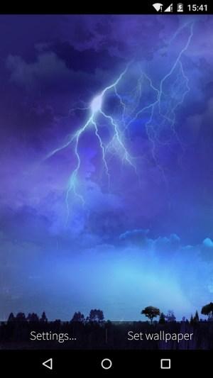 Lightning Storm Live Wallpaper Apks Android Apk
