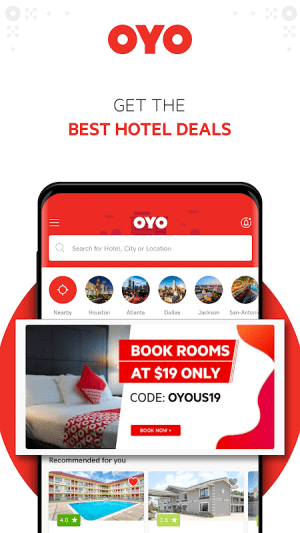 OYO: Book Rooms With The Best Hotel Booking App 5.2.12 Screen 2