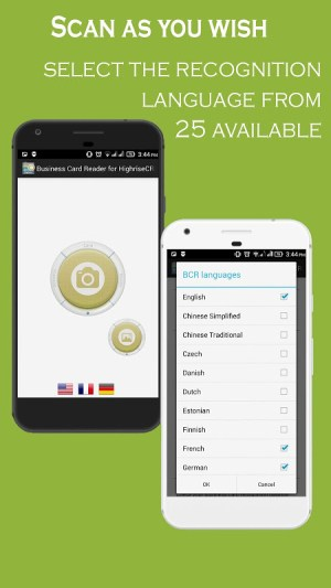 Android Business Card Reader for Highrise CRM Screen 15