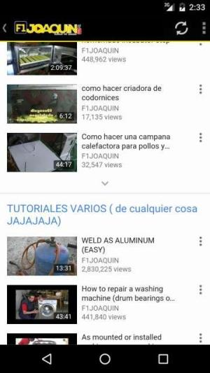 F1 Joaquin Hazlo tu mismo 1.0 Screen 1