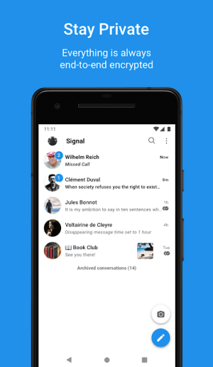 Signal Private Messenger 4.49.17 Screen 4