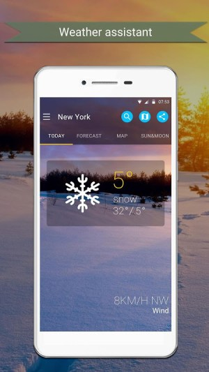 Weather 1.3 Screen 1