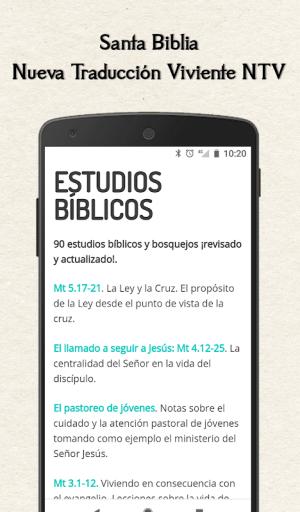 Santa Biblia Nueva Traduccion Viviente NTV 7.0.0 Screen 4