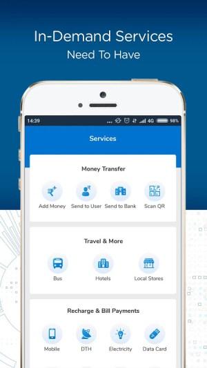 BSNL Wallet - Recharges, Bill Payments, Shopping 1.1 Screen 3