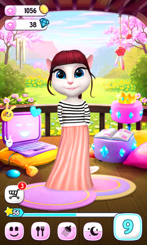 My Talking Angela 3.1.3.37 Screen 1