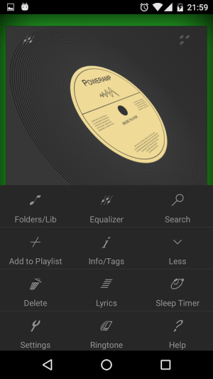 Poweramp EDM Skin 7 in 1 1.0 Screen 6