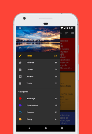D Notes - Smart & Material - Notes, Lists & Photos 2.2.3 Screen 15