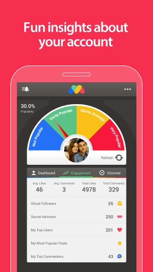 FollowMeter for Instagram 2.51 Screen 1