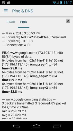 Ping & Net 3.5.2 Screen 3