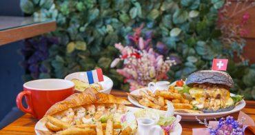 [高雄早午餐推薦]Dim Dim House點點好食-隱藏版花園秘境!大份滿足可頌早午餐