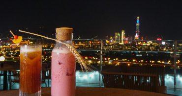 [台北夜景酒吧]台北萬豪酒店INGE'S BAR&GRILL-台北最美高空酒吧!微醺賞101夢幻夜景