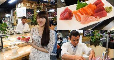 【台北美食】丸隆生魚行。隱身永樂市場內的立吞壽司店!五星飯店主廚好手藝這裡吃的到