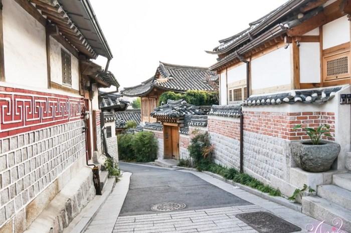 【韓國首爾景點】北村韓屋村。漫步三清洞!600年歷史超美傳統韓屋村(附北村八景地圖路線)