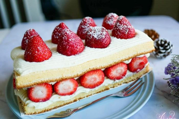 【台北美食】士林宣原蛋糕專賣店。台北最搶手人氣限量草莓蛋糕~手刀凌晨排隊!每年就等這一味