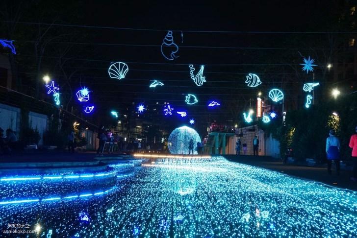 20200212205420 2 - 新莊人拍起來~~~幸福站有夠美  藍調燈海點亮河道 魔幻地球驚艷新莊 幸福這一站
