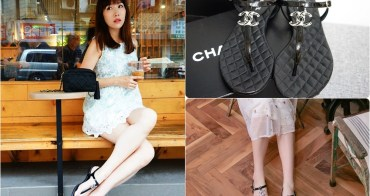 【精品】Chanel 雙C logo涼鞋 ♥ 時尚經典 好看好搭