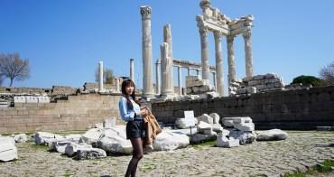 【土耳其熱氣球圓夢】土耳其必去景點 ♥ 貝加蒙遺址Bergama 衛城超美