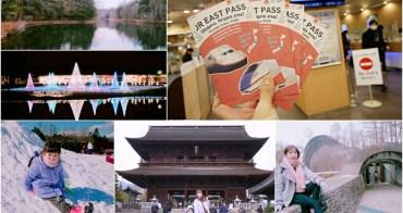 【日本】輕井澤&越後湯澤交通 ♥ JR東日本鐵路周遊券(長野、新潟地區)