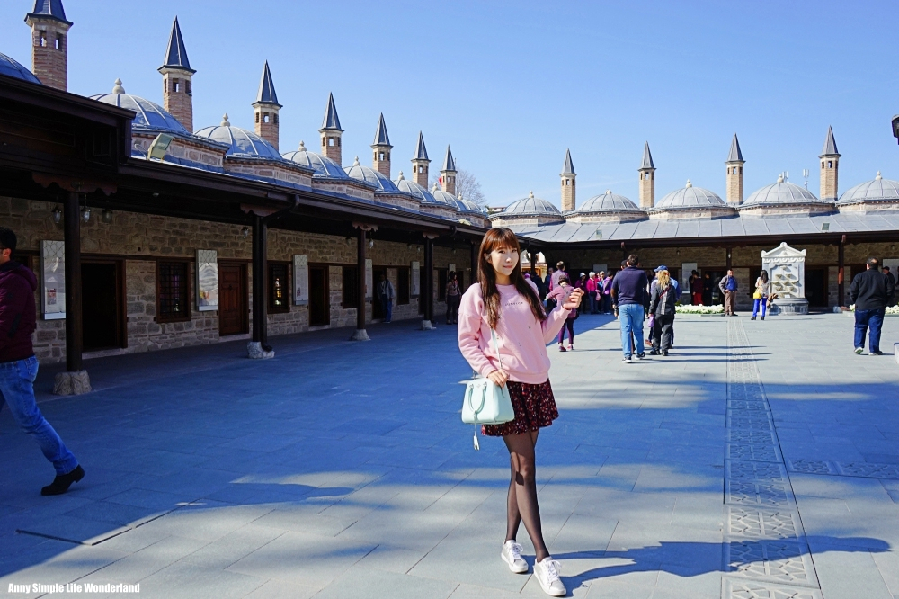 【土耳其熱氣球圓夢】孔亞景點梅夫拉納博物館 ♥ 旋轉舞之父&旋轉舞發源地 - 高妹。Simple Life Wonderland