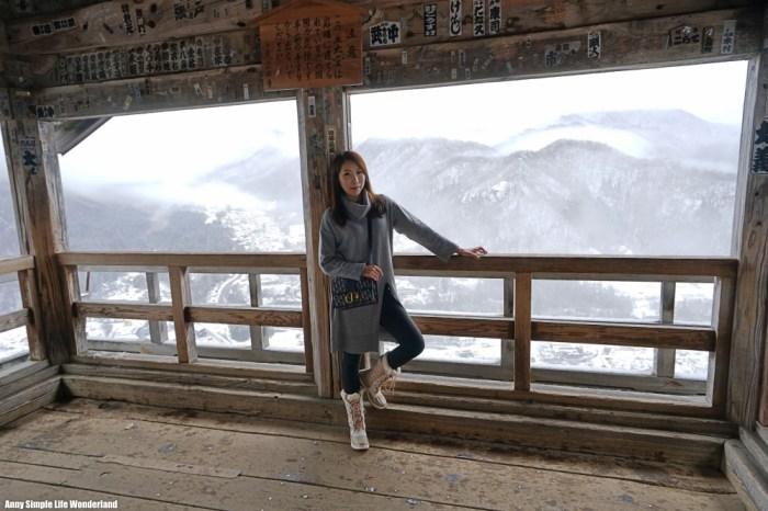 【日本東北】山形必去景點 山寺石立寺 ♥ 山寺冬天1015階梯。潑墨畫般的雪景