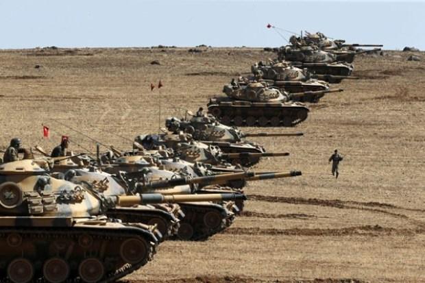Tank Turki Masuki Suriah untuk Usir ISIS di Kurdi