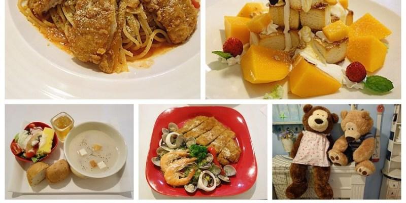 【彰化員林】鄉村貝拉;夏季就是要吃當季的芒果金磚蜜糖吐司!可愛的佈置,優閒的用餐環境,夏天就要清涼甜蜜~