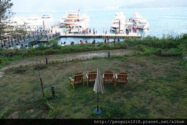 【南投魚池】MOON TEA&COFFEE日月潭水上明月湖畔花園咖啡館;眺望日月潭絕佳湖景的景觀餐廳。