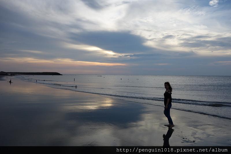 肉粽角沙灘   彰化線西景點,外拍婚紗推薦地點,欣賞夕陽西下動人美景。