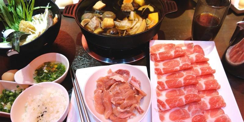 六本木鍋物 | 彰化市火鍋,雙肉盤壽喜燒,兩種肉類讓你吃飽飽!大滿足壽喜燒就在這裡。