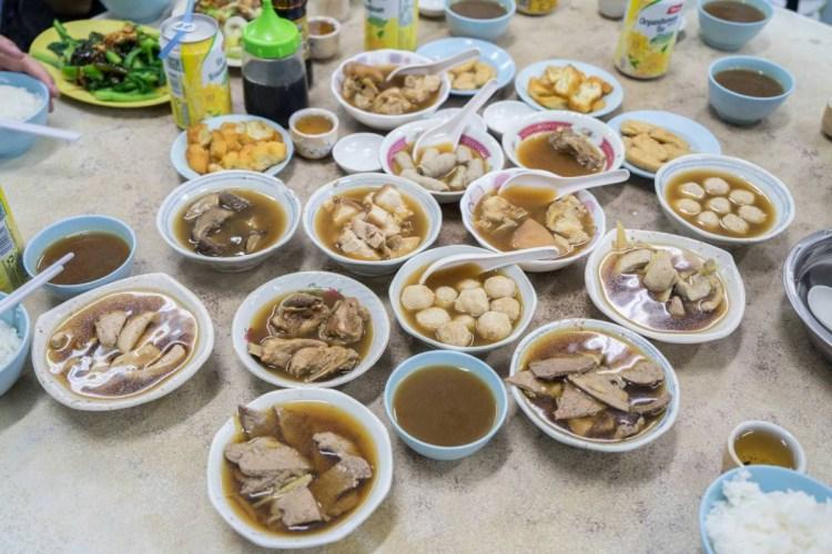 馬來西亞沙巴美食佑記肉骨茶 | 馬來西亞旅遊必吃美食,肉骨茶全餐!一起大快朵頤!