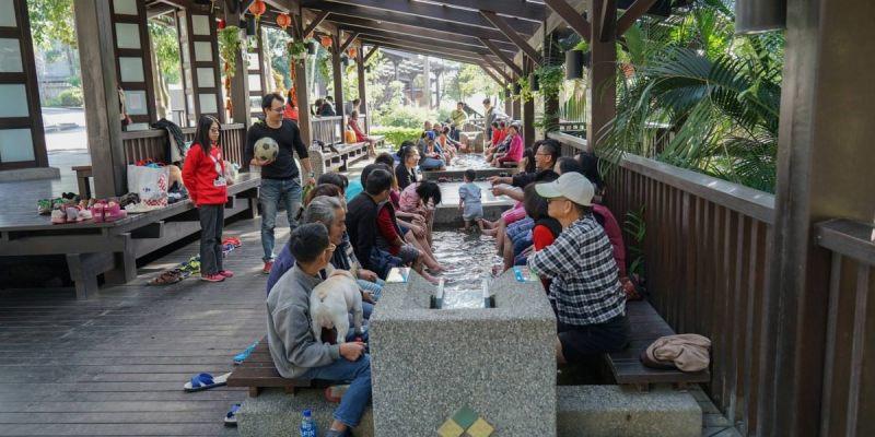 彰化縣清水岩童軍營地溫泉 | 彰化第一泉!日式造景免費泡腳池,彰化少數泡腳溫泉。