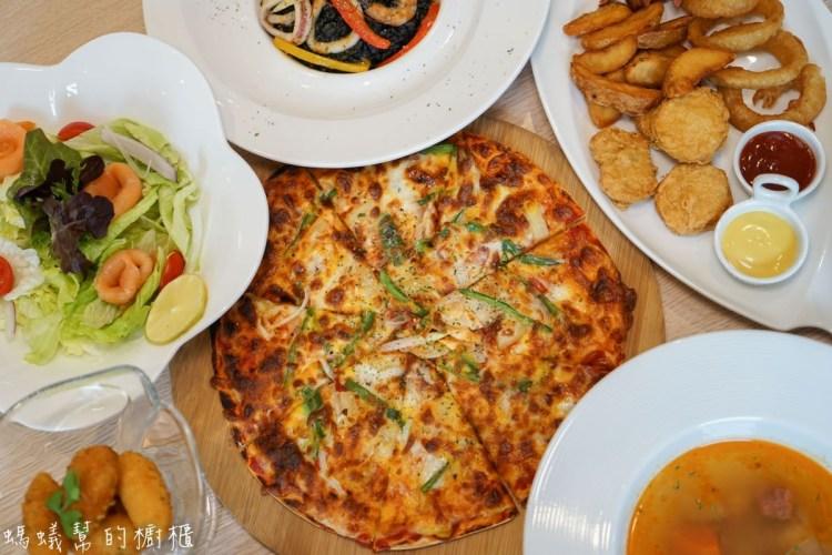 蘿蕬森活廚房 | 浪漫義大利餐館,員林聚餐約會新去處,高質感義大利麵燉飯、PIZZA。