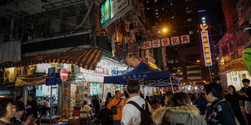 香港油麻地廟街興記煲仔飯   香港廟街美食推薦,在電影場景用餐!到香港必吃的特色煲仔飯。