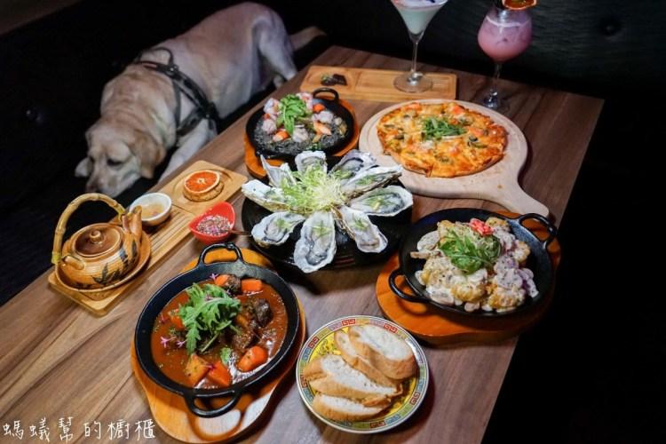 台中雙囍餐酒館   大紅色雙喜裝飾,宵夜場放鬆小酌,中式風搭配西洋風特色美食搭配,獨樹一格特色餐酒館。
