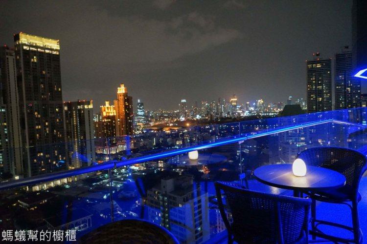 AIRE BAR | 泰國曼谷BTS澎蓬站高空酒吧推薦!曼谷180度夜景欣賞,氣氛寧靜浪漫。