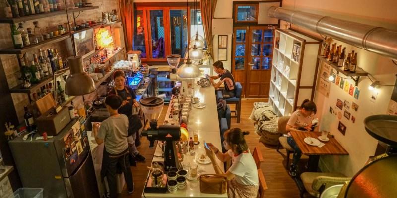 台中大甲布魯本咖啡Brewband Coffee | 小巷裡的秘密老宅咖啡館,千層蛋糕水準好,氛圍輕鬆悠閒。