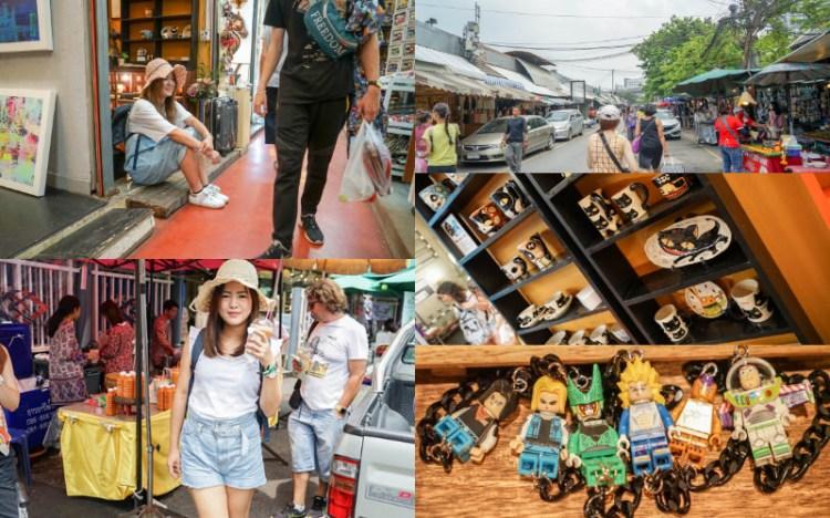 泰國曼谷洽圖洽Chatuchak Weekend Market | 地表最大市集,到泰國必逛的週末市集,可樂貓手工製作陶瓷器皿。