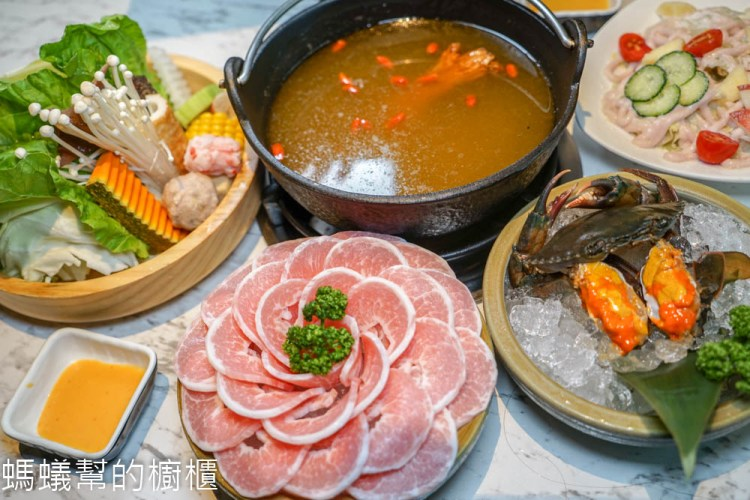 台中源鍋精緻鍋物 | 台中海鮮鍋物推薦,公益路美食,霸氣雙人海鮮船,特色麻油螃蟹鍋,回味無窮。