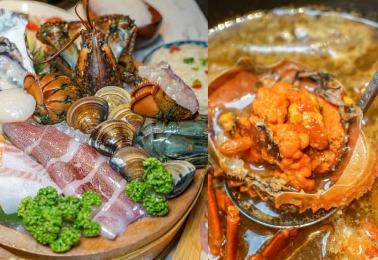 台中源鍋精緻鍋物   台中海鮮鍋物推薦,公益路美食,霸氣雙人海鮮船,特色麻油螃蟹鍋,回味無窮。
