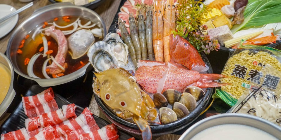 拾鑶私藏鍋物(太平店)   台中大里太平特色鍋物店,南洋風肉骨茶、叻沙鍋底,新鮮海鮮肉盤,明治冰淇淋無限取用。