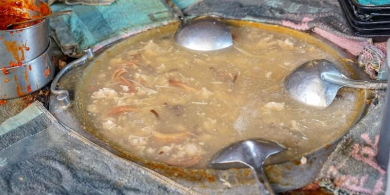彰化鹿港肉焿泉 | 鹿港特色小吃,魚漿豬肉塊清羹+豬肉炸,鮮香味美。