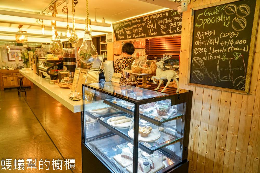 Grove177   韓國弘大咖啡館推薦,有 WiFi / 插座 / 食物的超棒咖啡館 - 巷子裡的生活